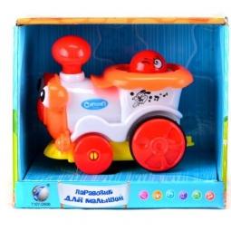 фото Паровозик игрушечный Shantou Gepai со светозвуковыми эффектами 1188