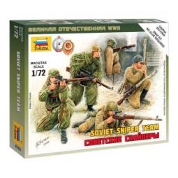 фото Набор сборных фигурок Звезда «Советские снайперы»