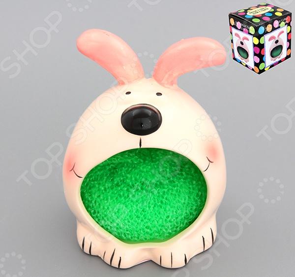 Подставка для губки Elan Gallery «Кролик» органайзеры на мойку elan gallery подставка для губки маки