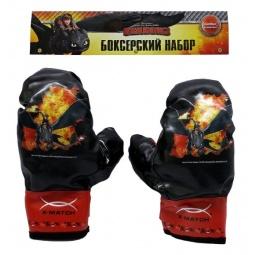 фото Перчатки боксерские детские X-MATCH «Как приручить дракона-2»