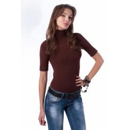 фото Свитер Mondigo 9003. Цвет: коричневый. Размер одежды: 44
