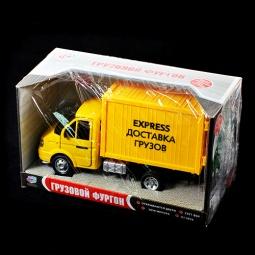 Купить Машина инерционная Joy Toy «Газель фургон Доставка» Р40518