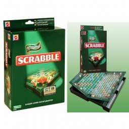 фото Игра дорожная Mattel Scrabble Travel. Скрэббл Трэвел
