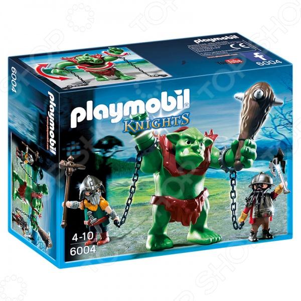 Конструктор игровой Playmobil 6004 «Рыцари: Гигантский тролль и боевые гномы» ролевые игры hti набор доктора в чемоданчике smart