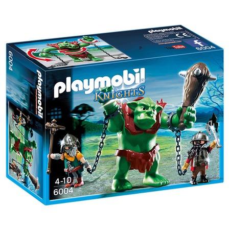 Купить Конструктор игровой Playmobil «Рыцари: Гигантский тролль и боевые гномы»