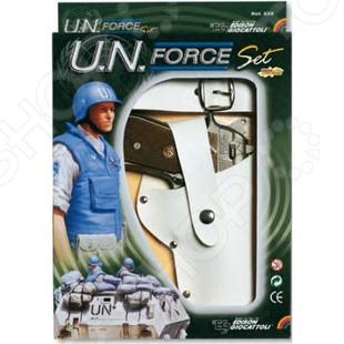 Игровой набор Edison UN-Force-Set пистолет edison giocattoli dakota metall western