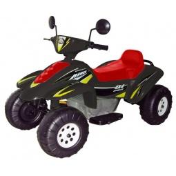 фото Квадроцикл детский электрический Пламенный Мотор «Бич Рейсер». Цвет: красный, черный