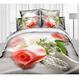 фото Комплект постельного белья Buenas Noches Svidanie. Satin Fotoprint. Евро