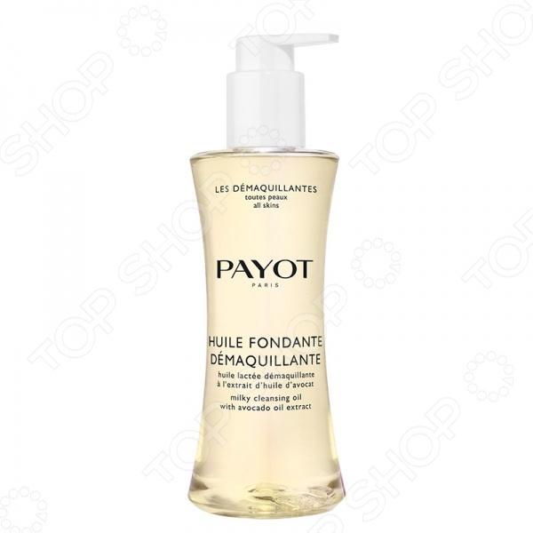 Масло очищающее и увлажняющее для снятия водостойкого макияжа Payot