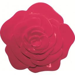 фото Подставка под горячее Zak!designs «Розовый бутон». Цвет: бордовый