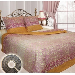 фото Комплект постельного белья Сова и Жаворонок «Индира». 2-спальный