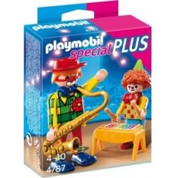 фото Набор фигурок к игровому конструктору Playmobil «Дополнение: Музыкальные клоуны»