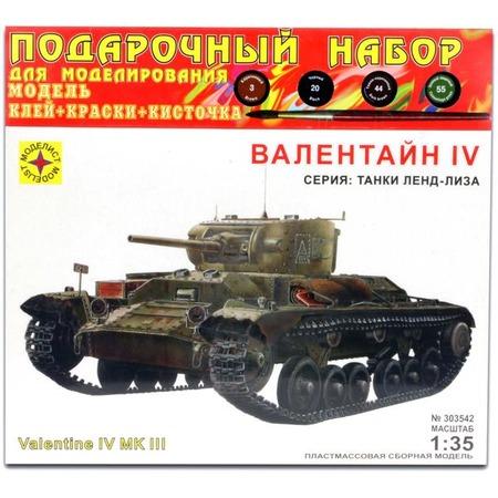 Купить Сборная модель танка Моделист «Валентайн IV»