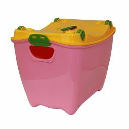 фото Ящик детский IDEA «Супер Пупер». Цвет: розовый