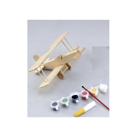 Купить Набор для моделирования Mapacha «Биплан с красками»