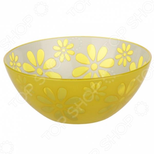 Салатник-чаша АльтернативаСалатницы<br>Салатник-чаша Альтернатива красочная модель, которая станет превосходным дополнением, как вашего повседневного стола, так и празднично сервированного. Салатник выполнен из качественных и безопасных для здоровья человека материалов. Такой салатник прекрасно подойдет как для подачи горячих блюд, так и для салатов или гарниров. Преимущества:  Красивый внешний вид.  Простота в уходе.  Можно использовать только для холодных продуктов.<br>