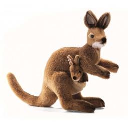 фото Мягкая игрушка для ребенка Hansa «Валлаби»
