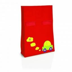 фото Термопакет IRIS Barcelona Ролбэг Snack Rico I9917. Цвет: красный. Рисунок: машинка