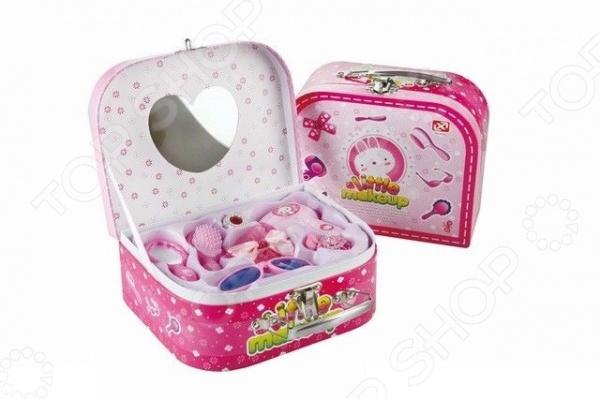 Набор аксессуаров для девочки Shantou Gepai «Чемодан-косметичка» 1707357 набор мебели для куклы shantou gepai в чемоданчике 8019
