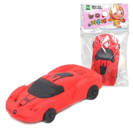 Купить Ластик-игрушка Beifa «Машинки спортивные». В ассортименте