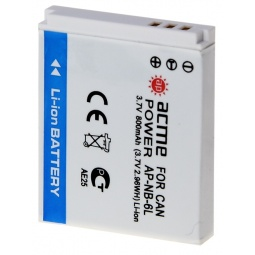 Купить Аккумулятор для фотоаппарата AcmePower AP-NB-6L