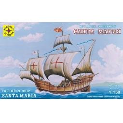 фото Сборная модель морского судна Моделист подарочная «Корабль Колумба Санта-Мария»