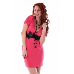 фото Платье Mondigo 8610. Цвет: коралловый. Размер одежды: 44