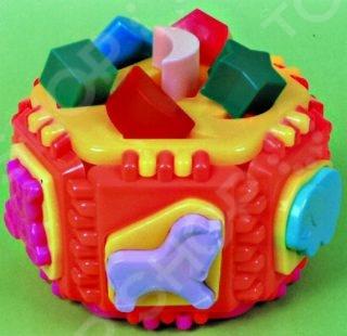 Игрушка-сортер логическая NINA «Детский сад» игрушка