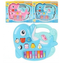 фото Орган игрушечный со светозвуковыми эффектами Shantou Gepai «Дельфин» 221. В ассортименте