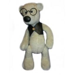 фото Мягкая игрушка Волшебный мир «Мишка шарнированный Джонни»