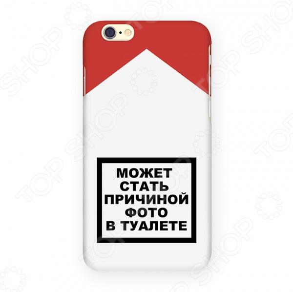 Чехол для iPhone 6 Mitya Veselkov «Может стать причиной...» чехлы для телефонов mitya veselkov чехол для iphone 6 салатовый