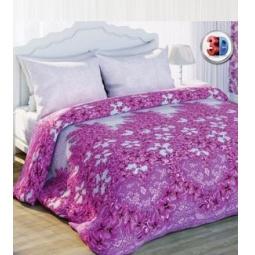 Купить Комплект постельного белья с эффектом 3D Любимый дом «Восхищение». 2-спальный