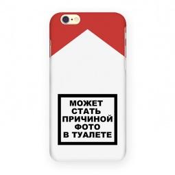 фото Чехол для iPhone 6 Mitya Veselkov «Может стать причиной...»