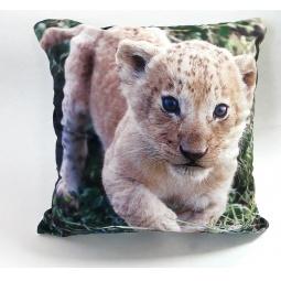 фото Подушка декоративная Унисон 3D Lion