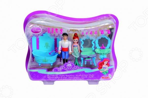 Набор кукол с аксессуарами Simba «Мини-Ариэль с принцем»