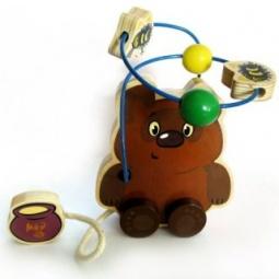 фото Игрушка развивающая для малыша Союзмультфильм «Логика с бусинками. Винни-Пух»