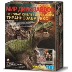 Купить Набор юного археолога 4M «Скелет Тираннозавра»