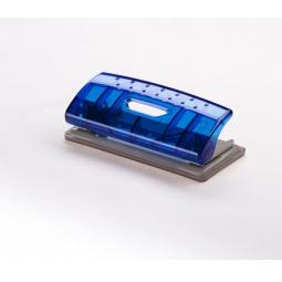 фото Дырокол прямоугольный Office Force Stationery Mini. Цвет: синий