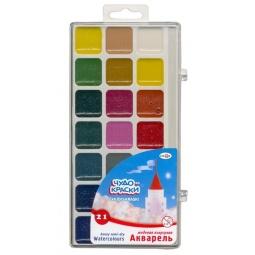 Купить Акварель медовая Гамма «Чудо-краски»: 21 цвет
