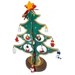фото Декорация новогодняя Новогодняя сказка «Елочка с игрушками»