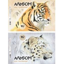 фото Альбом для рисования Erich Krause Wild Cats. В ассортименте