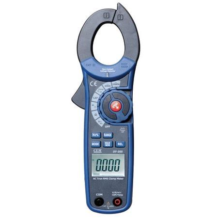 Купить Клещи токовые измерительные СЕМ DT-355