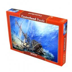 Купить Пазл 2000 элементов Castorland «Затонувший корабль»