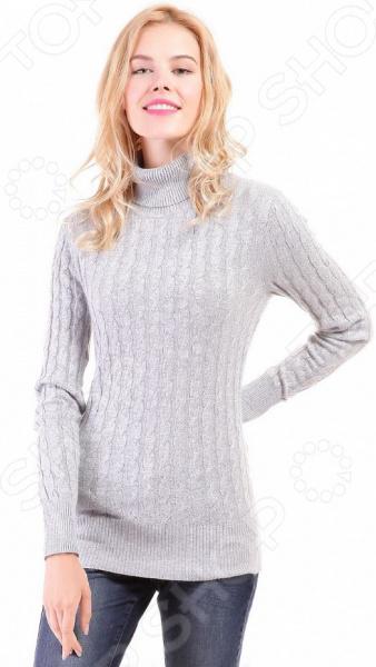 Джемпер Baon B136707Джемперы. Кардиганы. Свитеры<br>Джемпер это не только универсальная, но и весьма демократичная одежда. В зависимости от кроя, цветовой гаммы и рисунка, он может стать частью как классического, так и casual-гардероба. Такая одежда не просто удобна и практична, она еще и легко сочетаема с другими предметами гардероба. Стильно и со вкусом Джемпер Baon B136707 подчеркнет ваш вкус и поможет создать стильный и гармоничный образ. Модель универсальна, прекрасно подходит для повседневного ношения и хорошо сочетается с брюками, джинсами и леггинсами. Меланжево-серый джемпер будет также и отличным дополнением вашего базового гардероба. Особенно эффектно он смотрится в сочетании с вещами белого, черного, розового и синего цвета.  Особенности модели:  приталенный крой;  длинные рукава с манжетами;  высокий воротник с отворотом;  оригинальный вязаный узор;  сезон осень-зима. В качестве материала используется трикотаж с добавлением ангоры. Ткань очень мягкая, шелковистая и приятная на ощупь. Добавление к вискозе полиамида делает материал еще более прочным и устойчивым к истиранию. Также стоит отметить высокое качество используемых красителей. Они долго сохраняют свою яркость и не теряют цвет даже после многочисленных стирок.  Будь в тренде! Одежда Baon это синоним качества и стильного современного дизайна. Компания занимается производством как мужской, так и женской одежды. Коллекции соответствуют лучшим европейским трендам, а модели адаптированы под самые актуальные модные тенденции. Хотите выглядеть модно и стильно Тогда вперед за покупками в Baon!<br>