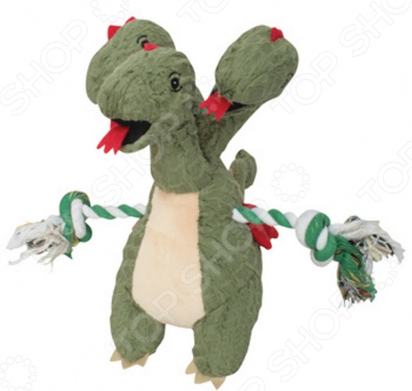 Игрушка для собак DEZZIE «Зеленый дракон»