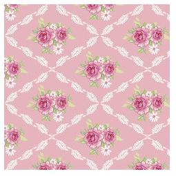 фото Отрез ткани Tilda Розали. Цвет: розовый