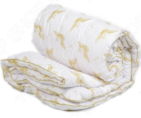Одеяло с термостежкой Mona Liza «Лебяжий пух»Одеяла<br>Качество постельных принадлежностей залог комфортного и крепкого сна. Если каждое утро вы ощущаете усталость и подавленность, значит пришло время задуматься о том, на чем вы спите и чем укрываетесь! Возможно, все дело в материале, из которого изготовлено постельное белье, или же наполнителе одеяла. К выбору данного изделия следует подходить особенно тщательно от этого зависит ваше самочувствие и эмоциональное состояние! Одеяло Mona Liza лучший вариант для вашей спальни! Одеяло с термостежкой Mona Liza Лебяжий пух изготовлено из высококачественных полиэфирных волокон с добавлением особого силиконового материала. Это и есть, так называемый, искусственный лебяжий пух . Получают его в производственной среде, однако по своим свойствам он максимально приближен к натуральному природному материалу. Одеяло из лебяжьего пуха обладает массой достоинств:  Отсутствие аллергенов;  Антисептические свойства;  Хорошая воздухопроницаемость;  Упругость;  Исключительная прочность;  Легкость;  Удобство эксплуатации.  Под лебяжьим пухом понимают тончайшие синтетические волокна, прошедшие обработку силиконом. Вместе они формируют структуру наполнителя одеяла. Она очень мягкая и пористая, легкая и достаточно упругая, поэтому изделие без труда принимает любую форму и адаптируется под анатомические особенности тела. Благодаря упругости лебяжьего пуха одеяло после многократных стирок не деформируется. Почему стоит выбрать одеяло от Mona Liza Изделие радует и своей легкостью, поэтому во время сна вы не будете ощущать дискомфорта, а стирка и сушка изделия точно не доставят проблем. Необходимо отметить, что такое одеяло подойдет аллергикам: волокна, обработанные силиконом, непригодны для размножения бактерий, грибка и прочих микроорганизмов, которые могут вызвать у человека определенную реакцию. Пористая структура ткани способствует постоянной циркуляции воздуха. Поэтому во время сна и отдыха ничто не будет препятствовать дыханию кожи. Это а