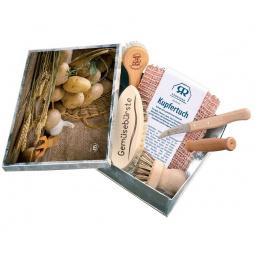 Набор ножей и щеток для чистки овощей Redecker 100005. В ассортименте