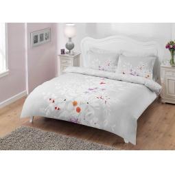 фото Комплект постельного белья TAC Flame. 1,5-спальный. Цвет: серый