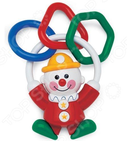 Погремушка Tolo Toys «Клоун» 86197